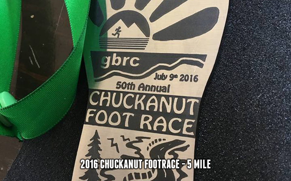 2016 Chuckanut Foot Race