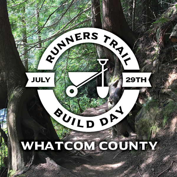 Whatcom County Runners Trail Build Day